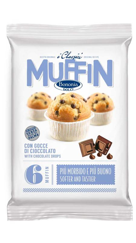 Muffin with chocolate drops