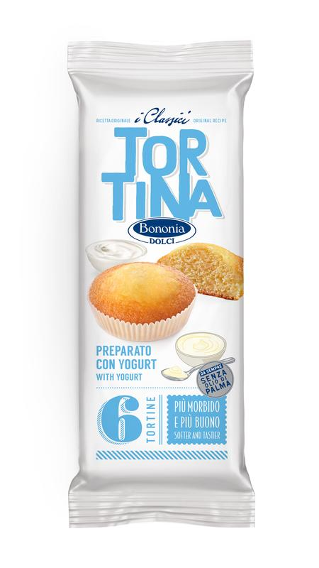 Tortina preparata con yogurt